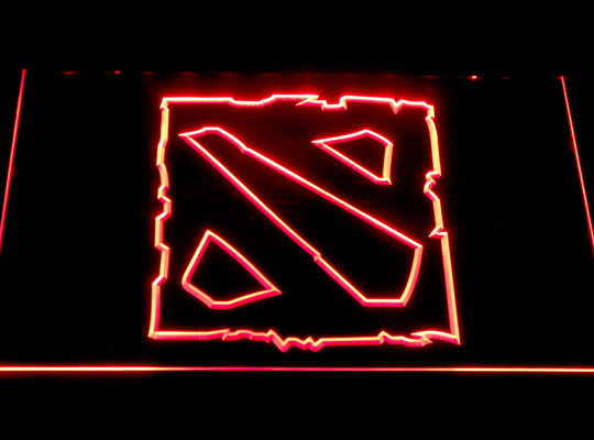 Dota 2 LED Sign - Red - TheLedHeroes