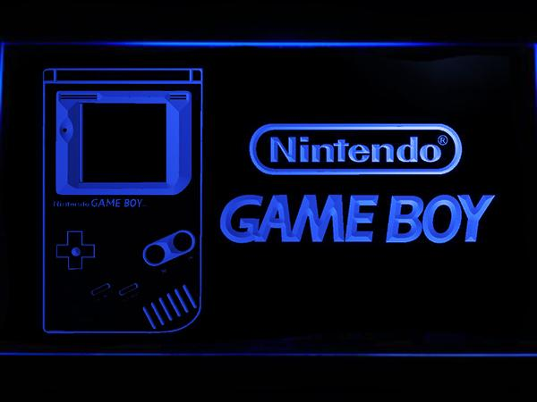 Nintendo Game Boy LED Neon Sign USB - Blue - TheLedHeroes