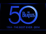 FREE The Beatles 1964/2014 LED Sign - Blue - TheLedHeroes