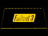 Fallout 3 LED Sign - Yellow - TheLedHeroes