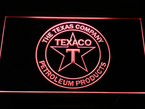 FREE Texaco The Texas Company LED Sign - Red - TheLedHeroes