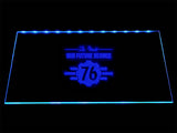 Fallout 76 Our Future Begins! LED Sign - Blue - TheLedHeroes