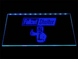 Fallout Shelter (2) LED Sign - Blue - TheLedHeroes