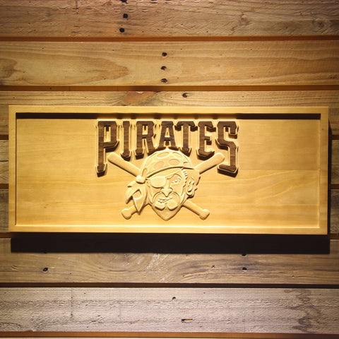 Pittsburgh Pirates Wooden Sign