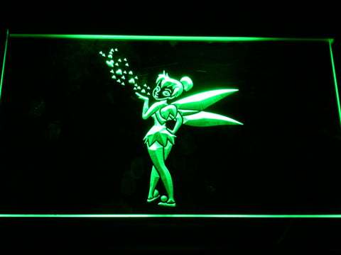 FREE Disney Tinkerbell Peter Pan LED Sign - Green - TheLedHeroes
