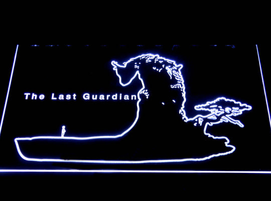 The Last Guardian LED Sign - White - TheLedHeroes