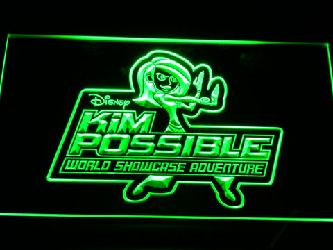 FREE Kim Possible LED Sign - Green - TheLedHeroes
