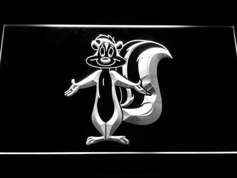 FREE Pepe Le Pew LED Sign - White - TheLedHeroes