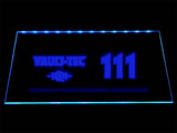 Fallout Vault-Tec 111 LED Sign - Blue - TheLedHeroes