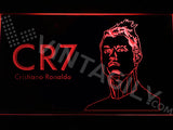 Cristiano Ronaldo LED Sign - Red - TheLedHeroes