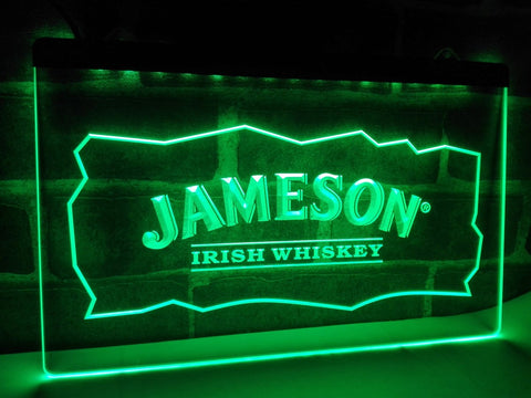 FREE Jameson LED Sign - Green - TheLedHeroes