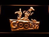 FREE Disney Goofy LED Sign - Orange - TheLedHeroes