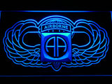 FREE 82nd Airborne Division (2) LED Sign - Blue - TheLedHeroes
