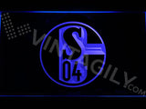 FREE FC Schalke 04 LED Sign - Blue - TheLedHeroes