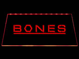 Bones LED Neon Sign USB - Red - TheLedHeroes