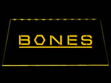 Bones LED Neon Sign USB - Yellow - TheLedHeroes