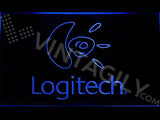 FREE Logitech LED Sign - Blue - TheLedHeroes