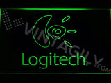 FREE Logitech LED Sign - Green - TheLedHeroes