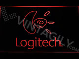 FREE Logitech LED Sign - Red - TheLedHeroes