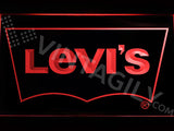 FREE Levi's LED Sign - Red - TheLedHeroes
