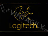 FREE Logitech LED Sign - Yellow - TheLedHeroes