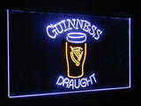 Guinness Draught Ale Dual Color LED Sign - Normal Size (12x8.5in) - TheLedHeroes