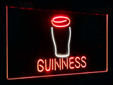 Guinness Glass Dual Color LED Sign - Normal Size (12x8.5in) - TheLedHeroes