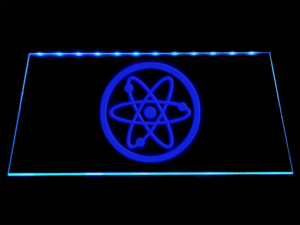 Fallout Advanced Systems Symbol LED Sign - Blue - TheLedHeroes