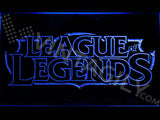 FREE League of Legends LED Sign - Blue - TheLedHeroes
