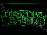 FREE League of Legends LED Sign - Green - TheLedHeroes