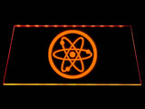 Fallout Advanced Systems Symbol LED Sign - Orange - TheLedHeroes