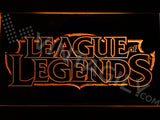 FREE League of Legends LED Sign - Orange - TheLedHeroes