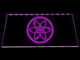 Fallout Advanced Systems Symbol LED Sign - Purple - TheLedHeroes
