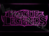 FREE League of Legends LED Sign - Purple - TheLedHeroes