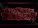 FREE League of Legends LED Sign - Red - TheLedHeroes