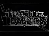 FREE League of Legends LED Sign - White - TheLedHeroes
