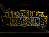 FREE League of Legends LED Sign - Yellow - TheLedHeroes