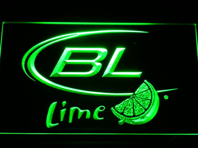 Bud Light Lime LED Neon Sign Electrical - Green - TheLedHeroes