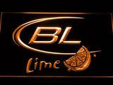 Bud Light Lime LED Neon Sign Electrical - Orange - TheLedHeroes