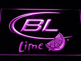Bud Light Lime LED Neon Sign Electrical - Purple - TheLedHeroes