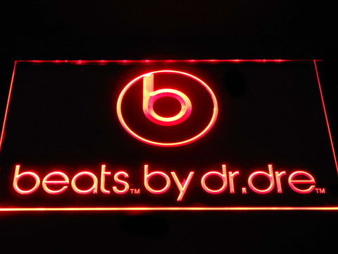 FREE Beats by Dr Dre LED Sign - Red - TheLedHeroes
