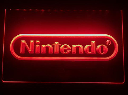 Nintendo LED Sign - Red - TheLedHeroes
