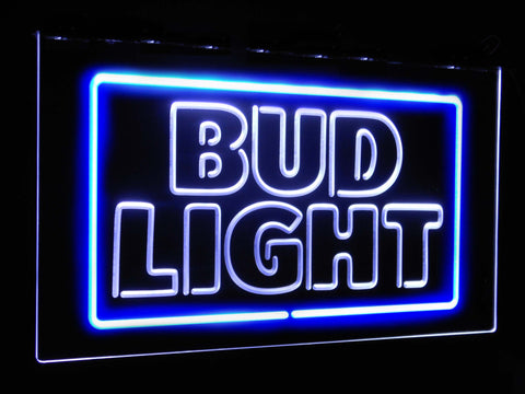 Bud Light (4) Dual Color LED Sign - Normal Size (12x8.5in) - TheLedHeroes