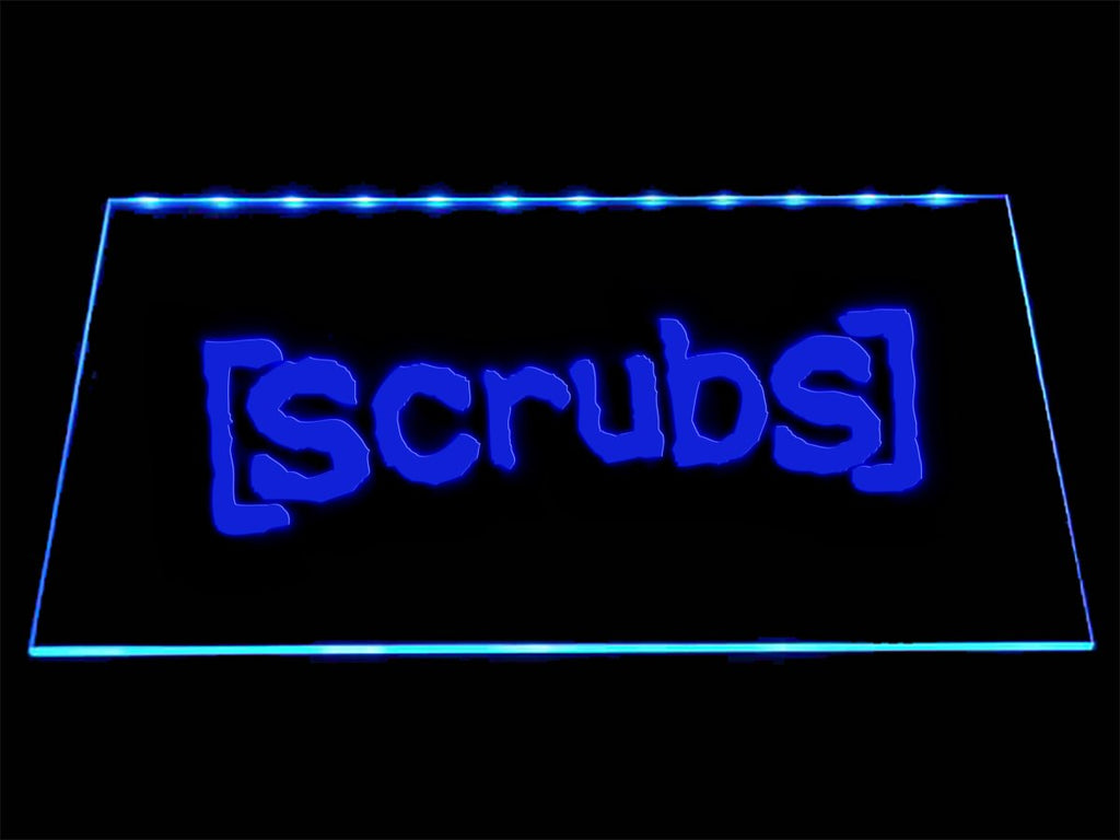 Scrubs LED Neon Sign USB - Blue - TheLedHeroes