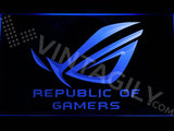 FREE Republic of Gamers LED Sign - Blue - TheLedHeroes