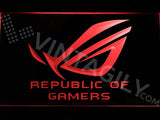 FREE Republic of Gamers LED Sign - Red - TheLedHeroes
