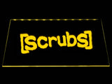 Scrubs LED Neon Sign USB - Yellow - TheLedHeroes