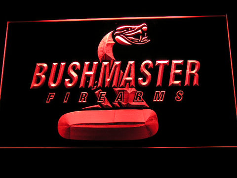 FREE Bushmaster Firearms LED Sign - Red - TheLedHeroes
