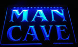 FREE Man Cave LED Sign - Blue - TheLedHeroes