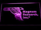 FREE Magnum Research Inc. LED Sign - Purple - TheLedHeroes